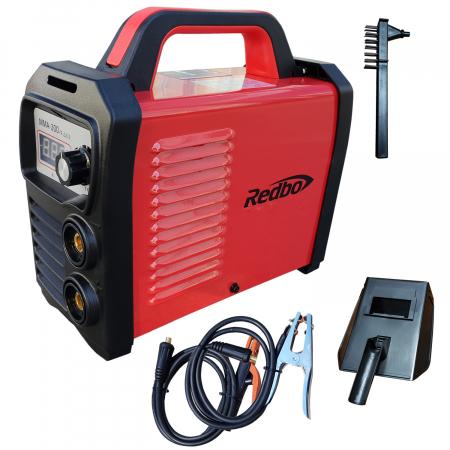 Invertor sudura Redbo MMA 300A, Accesorii Incluse, Electrozi 1.6-5 mm0