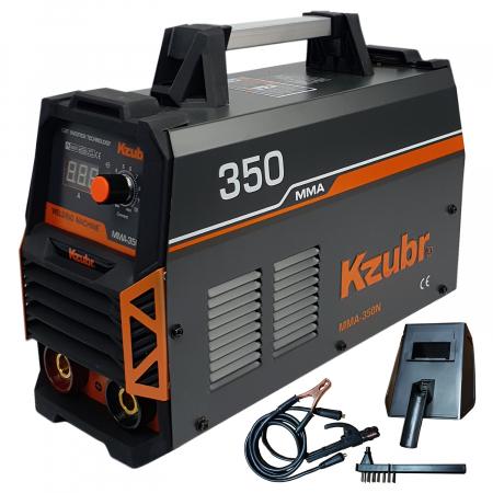 Invertor de sudura, KZUBR MMA 350N, electrozi 1.6-5mm0
