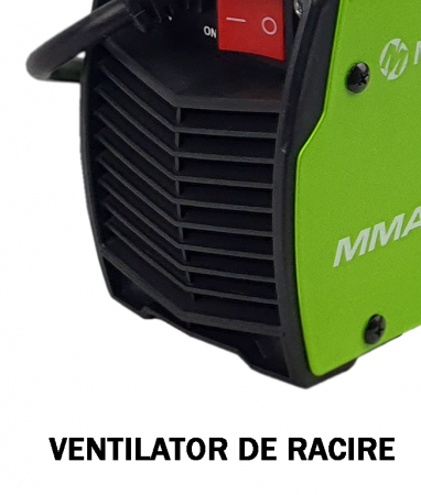 Aparat de sudura MegaGarden MMA 355 + Masca automata, Invertor, 355Ah, cablu sudura 3 metri [4]