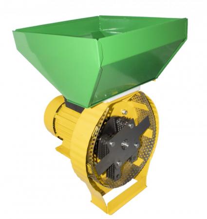 Moara pentru uruiala si cereale,Model Procraft 3.5 KW, Cuva Mare, 3000 RPM, 200 KG/H, 20 Ciocanele, 4 Site, 100% Cupru1