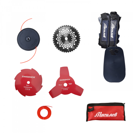 Pachet MOGILEV, Motocoasa + Motofierastrau , 7.5CP, accesorii incluse5