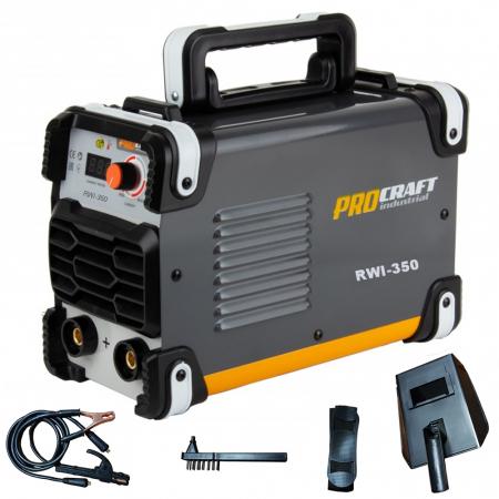 Pachet Profi ProCraft , Invertor RWI 350 Industrial + Motofierastrau GS 52T, 5.5CP, accesorii incluse1