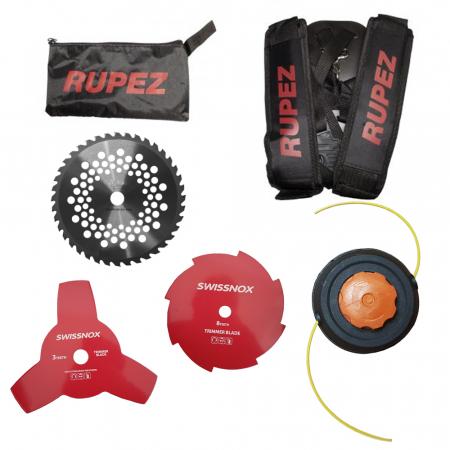 Motocoasa de umar RUPEZ RPZ 4200, 5.6CP, 58cc [5]