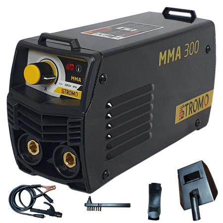 Aparat de sudura ( Invertor ) STROMO MMA 300 + Masca cu cristale automata, Cablu 3m, 320Amps1