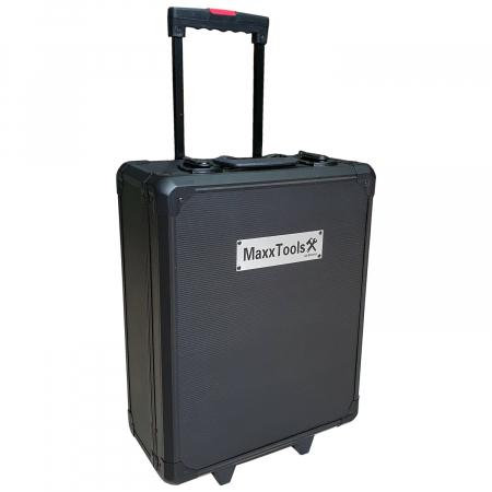 Trusa de scule profesionala 386 piese MaxxTools cu troler pentru transport2