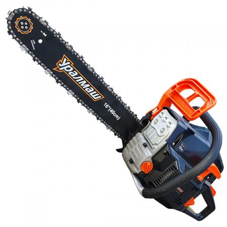 Motofierastrau ( drujba ) cu lant , UralMash 62CC, 6.5CP, 2 lame si 2 lanturi, benzina,  garantie 2 ani1