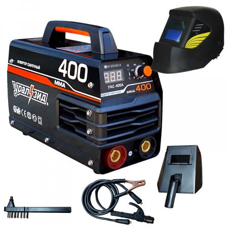 Aparat de Sudura - Invertor MMA 400A URALZID + Masca automata, Accesorii incluse