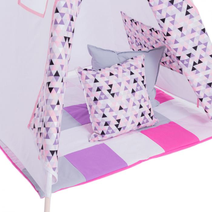 DARE TO DREAM Set Cort Triunghiuri roz