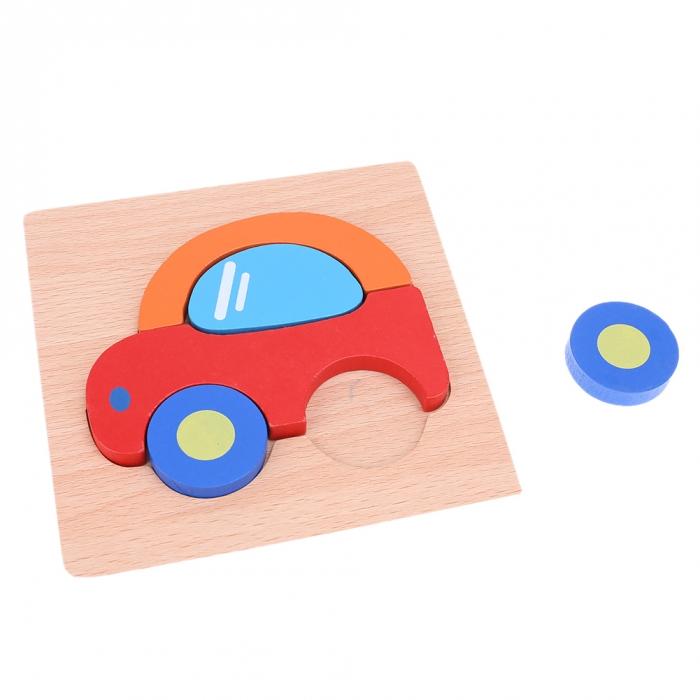 Puzzle Lemn 3D Masina
