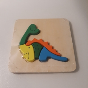 """Puzzle lemn """"Dinozaur"""""""