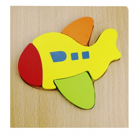 Puzzle Lemn 3D Avion