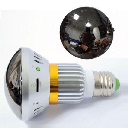 Camera Ip Spion Wi-Fi Ascunsa in Bec cu Rezolutie 720p, Infrarosu , Emite Lumina Galbena 5W, Lentila Oglinda Perfect Camuflata , P2P ,CSBC785YL940 3