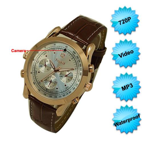 Cameră Video Spy Ascunsă în Ceas de Mâna - Cel mai Subțire, Rezoluție 1280x720P 0
