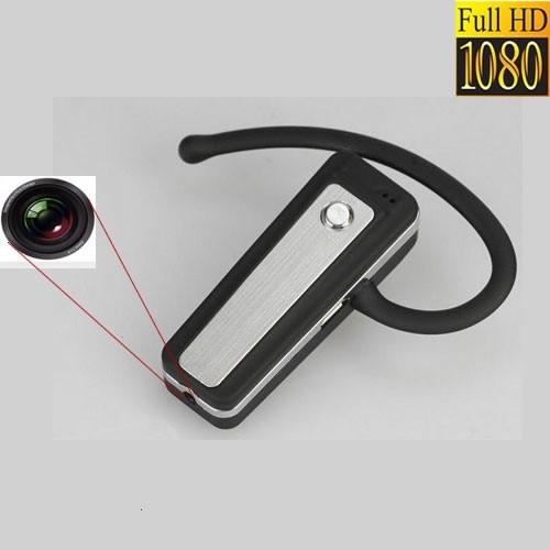 Camera Video Spy, Card MicroSD 32 GB, Rezolutie 1920x1080p Integrata in Casca Bluetooth 2