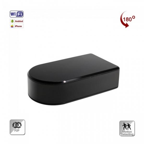 Camera Video Spion pentru Supraveghere Wi-Fi, Ip + DVR, Full HD 1920x1080p, Lentila Mobila 180 Grade Orientata din Aplicatie, Detector de Miscare 2