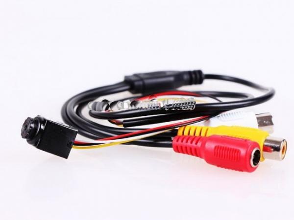 Camera CCTV de Supraveghere Spion 90 Grade, Sunet, 520 TVL CCCTVMINI903EE 3