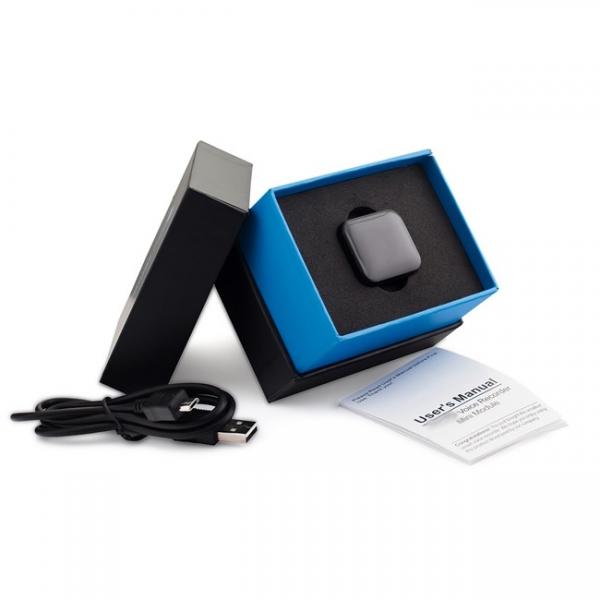 Mini Reportofon Activare Vocala si Parola De Protectie - -24 de ore Baterie - 4GB- 286 de ore - 1536 kbps, Model Profesional aTTo 4GB 5