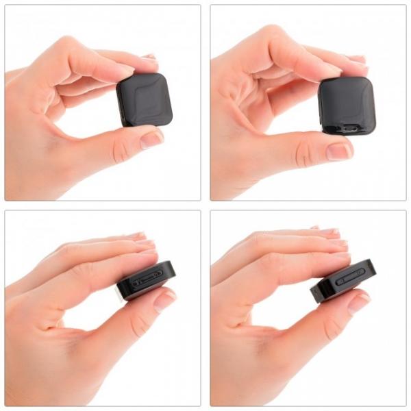 Mini Reportofon Activare Vocala si Parola De Protectie - -24 de ore Baterie - 4GB- 286 de ore - 1536 kbps, Model Profesional aTTo 4GB 1