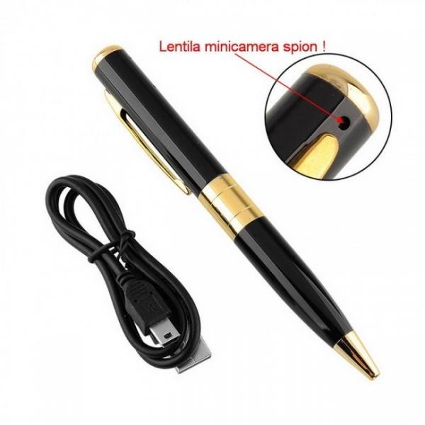 Minicameră Video Spion Ascunsă în Pix | 8Mp 89 Lei | Promoție | SP8MP 2
