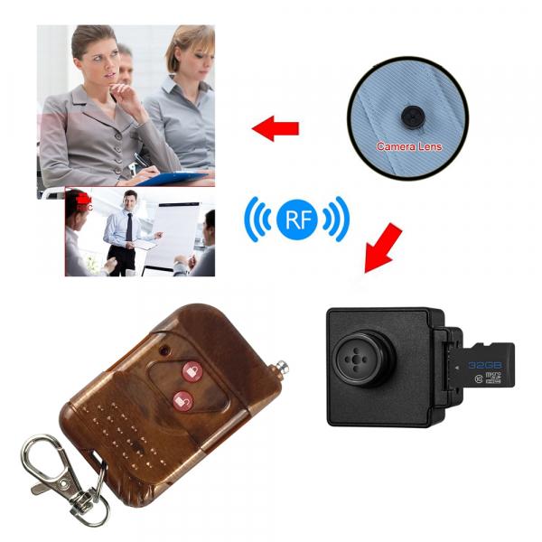 Camera Video Spy Portabila cu Rezolutie FULL HD, 128GB, Alimentare Permanenta [5]