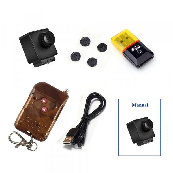Camera Video Spy Portabila cu Rezolutie FULL HD, 128GB, Alimentare Permanenta 4