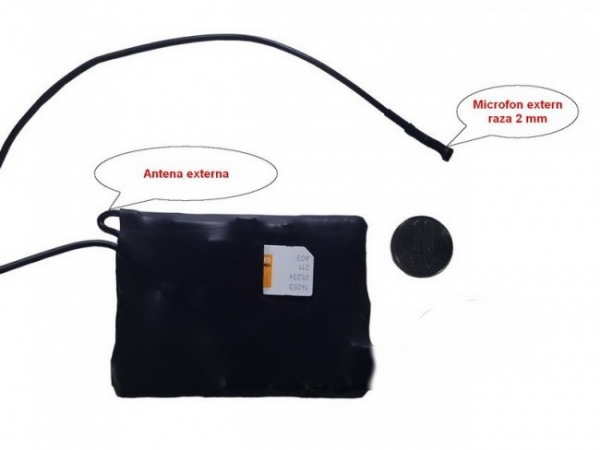 Localizator GPS Tracker Spy cu Microfon x-tend  - 12 Zile Autonomie 0