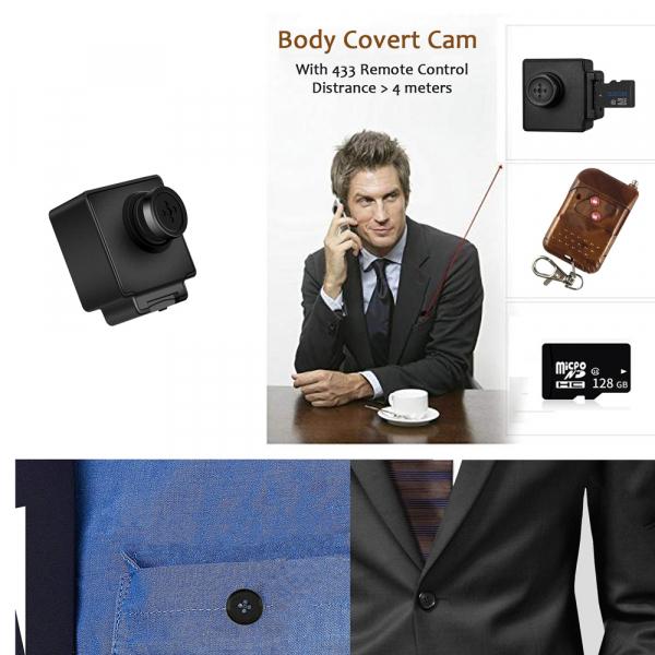 Camera Video Spy Portabila cu Rezolutie FULL HD, 128GB, Alimentare Permanenta 6