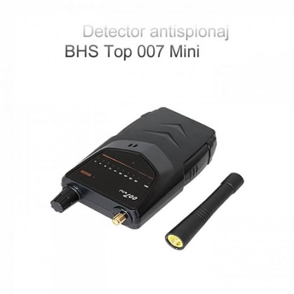 BHS Top 007 Mini – 5.2 Ghz - Detector pentru Camere si Microfoane Spion cu Scanare Manuala 2