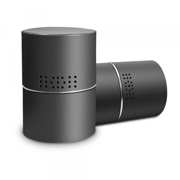 Boxă Bluetooth cu Cameră Video Spy, WI-FI, IP, P2P+DVR, Senzor de Mișcare, Lentilă Rotativă 330 de Grade 0