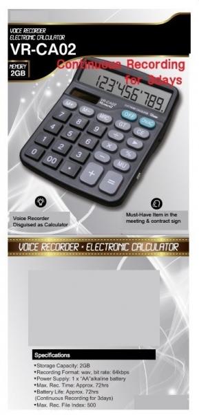 Calculator de birou reportofon profesional 1