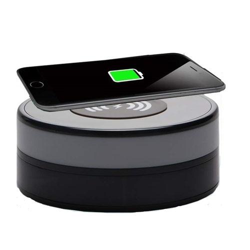 Încărcător Wireless cu Cameră Video Spy, Wi-Fi, Ip, P2P, Rezoluție 1920x1080p, Senzor de Mișcare, Lentilă 160 de Grade, 128GB 0
