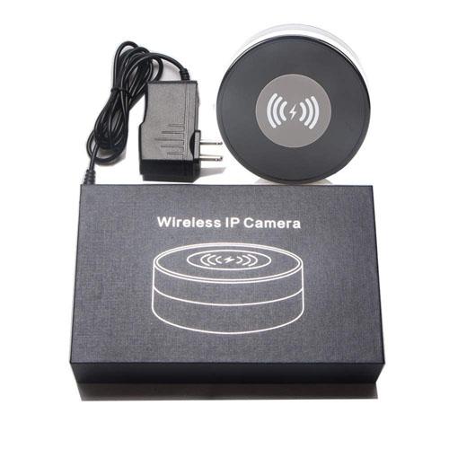 Încărcător Wireless cu Cameră Video Spy, Wi-Fi, Ip, P2P, Rezoluție 1920x1080p, Senzor de Mișcare, Lentilă 160 de Grade, 128GB 4