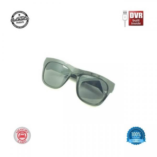 Minicamera video spy camuflata in ochelari de soare, card microSD 32Gb 0