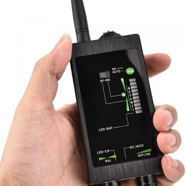 Detector Ultraprofesional de camere, microfoane, localizatoare spy si telefoane mobile, 12Ghz, MAXPROTECT10 [5]