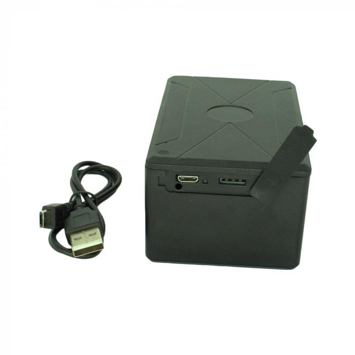 GPS Tracker Smart cu 8 Magneti, Autonomie 240 de Zile, Aplicație iOS + Android, Istoric 3 Luni, Model GPS240SMART [3]
