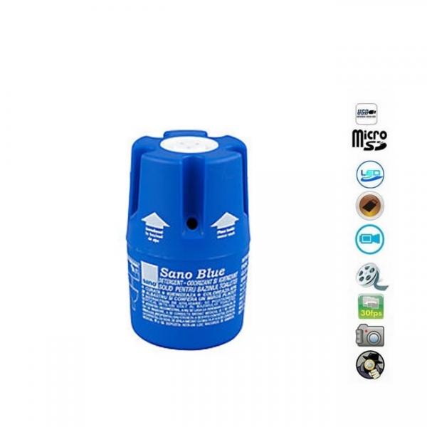 Microcamera video spy ascunsa in igienizator baie cu senzor de miscare, telecomanda, 1920x1080p 1