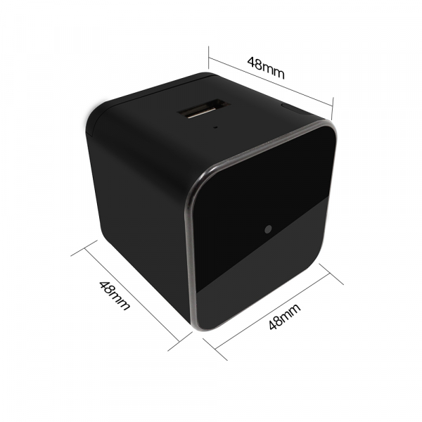 Camera Video Spy Ascunsa in Incarcator, Rezolutie 1280x720p, Wi-Fi Ip cu Nightvision, Senzor de Miscare, 128GB 2