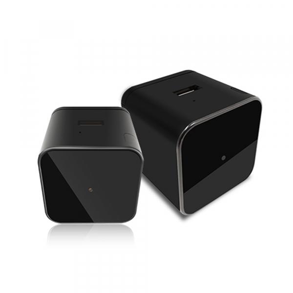Camera Video Spy Ascunsa in Incarcator, Rezolutie 1280x720p, Wi-Fi Ip cu Nightvision, Senzor de Miscare, 128GB 4