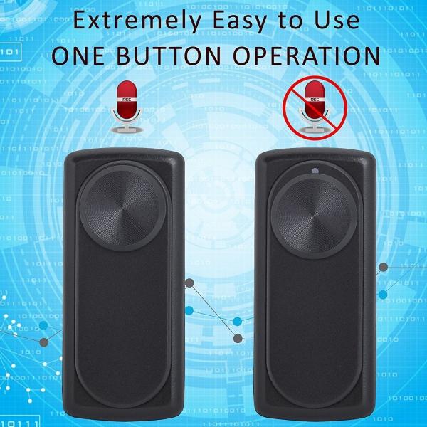 Mini Reportofon 8GB Autonomie 20 de Ore, Înregistrare Continuă și Capacitate de Stocare 90 de Ore - NANOREC 1