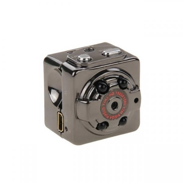 Microcamera video pentru spionaj cu senzor de miscare si night vision, 1920x1080p 2