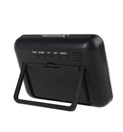 Microcamera spion wi-fi ip p2p ascunsa in ceas de birou,senzor miscare,32Gb,1080p 2
