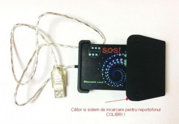 Reportofon spy programabil profesional mascat in card bancar , 1.5 mm Colibri 2