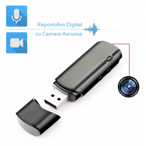 2in1 - reportofon si camera integrate in stick USB de memorie 0