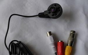 Camera Spion pentru Supraveghere CCTV cu Functie de Night Vision, 940Nm, Sunet, 600 TVL0