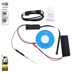 Modul Compact Microcameră Video Spion HD Wireless Integrabilă | IP P2P Wi-Fi |1080p, 32GB | MCSWP2P1080P