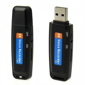 Reportofon Spy Mascat in Stick USB de Memorie - Model USBVR28 - Varianta Economica0