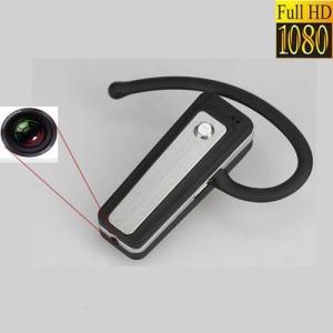 Camera Video Spy, Card MicroSD 32 GB, Rezolutie 1920x1080p Integrata in Casca Bluetooth2