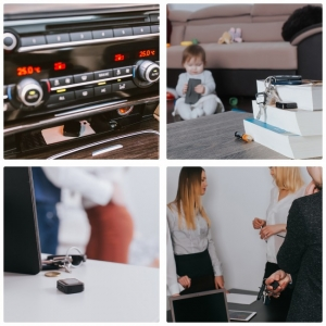 Mini Reportofon Activare Vocala si Parola De Protectie - -24 de ore Baterie - 4GB- 286 de ore - 1536 kbps, Model Profesional aTTo 4GB4