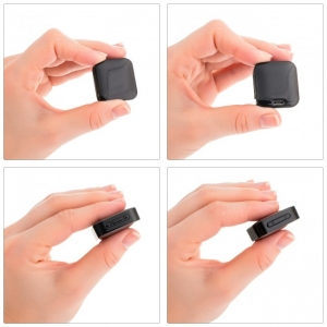 Mini Reportofon Activare Vocala si Parola De Protectie - -24 de ore Baterie - 4GB- 286 de ore - 1536 kbps, Model Profesional aTTo 4GB1