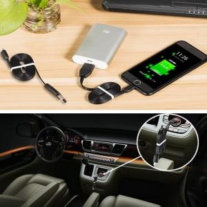 Cablu USB Pentru  Telefon (Android/IOS ) cu GPS TRACKER  si  Microfon GSM cu Activare Vocala TRACK-USB-91